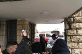 نقل 5 طلاب من المعتصمين بجامعة بيرزيت للمستشفى