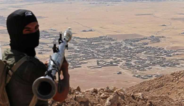اصابات في هجوم لداعش على منفذ حدودي بين سوريا والعراق