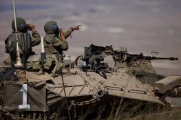جيش الاحتلال يرفع حالة التأهب في الجولان السوري المحتل