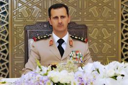 الأسد : نسعى الى وقف اطلاق النار لحماية المواطنين