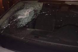 إصابة 4 مواطنين جراء اعتداء المستوطنين على مركبة جنوب نابلس