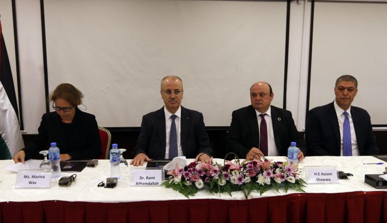 الحمد الله : مكافحة جرائم غسل الاموال وتمويل الارهاب هي لتعزيز امن المواطن الفلسطيني