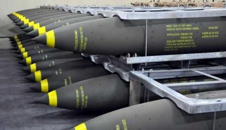تركيا تبيع الامارات قنابل بقيمة  20.2 مليون دولار
