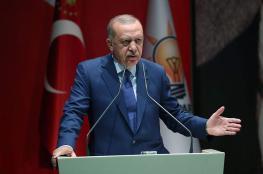 أردوغان : لن نسمح لأحد بالمساس بمصالح تركيا