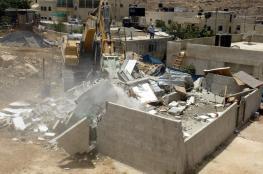 للمرة الثانية: الاحتلال يهدم منزلا في يطا جنوب الخليل ويشرد قاطنيه