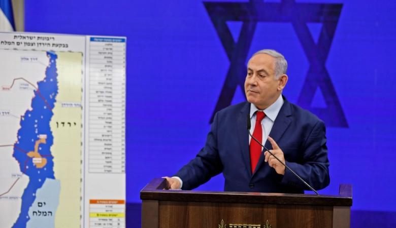 نتنياهو : سأفرض السيادة الاسرائيلية  على الضفة الغربية