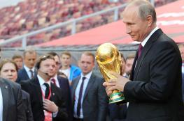 بوتين يكشف : احبطنا 25 مليون هجوم خلال فترة المونديال