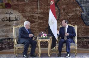 الرئيس يلتقي نظيره المصري  عبد الفتاح السيسي في القاهرة