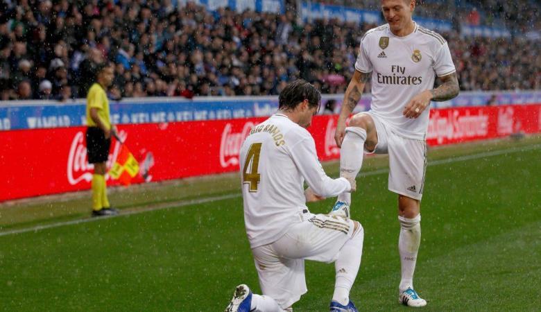 ريال مدريد يتصدر الدوري الاسباني بعد فوزه على الافيس