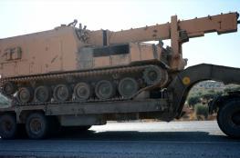 وصول تعزيزات عسكرية تركية جديدة إلى المناطق الحدودية المحاذية لسوريا