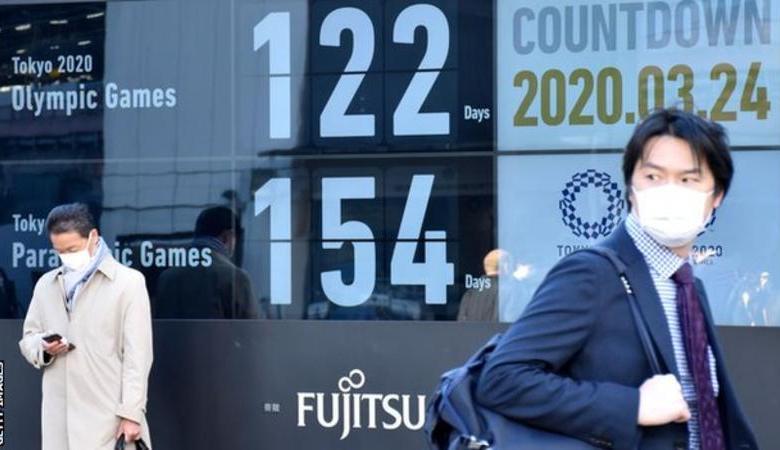 """اليابان تعلن تأجيل """"طوكيو 2020 """" بسبب فيروس كورونا"""