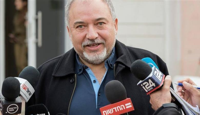 """ليبرمان : حماس """"آكلة لحوم البشر """"  تعرضت لضربة قاسية"""