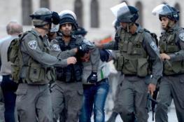الاحتلال يعتقل ثمانية مواطنين من القدس بينهم سيدة