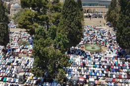 الخارجية الفلسطينية تدين منع الاحتلال للرجال دون 40 عاما من دخول القدس