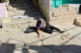 شهيد برصاص الاحتلال في مخيم العروب شمال الخليل