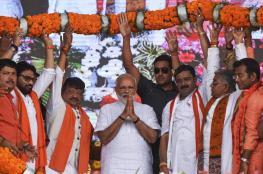 حزب مودي يفوز بالانتخابات الهندية ويحقق غالبية بالبرلمان