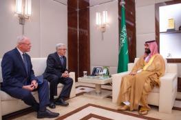 بن سلمان يلتقي المبعوث الأمريكي للشأن السوري