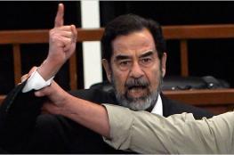 """شاهد ...رسالة نادرة للزعيم العراقي """"صدام حسين """" قبل اعدامه بـ4 أيام"""