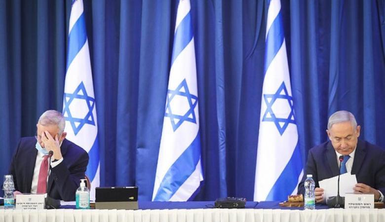 """""""اسرائيل """" : خلافات حادة بين الليكود وازرق أبيض"""