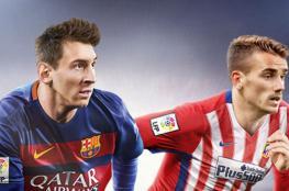 """ميسي يسعى لضم """"غريزمان """" الى صفوف نادي برشلونة"""
