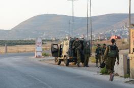 الاحتلال يعلن عن احباط عملية مزدوجة على حاجز زعترة
