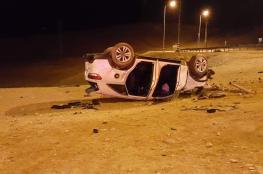 إصابة 124 مواطن في 223 حادث سير الأسبوع الماضي في الضفة الغربية