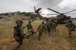 مناورات عسكرية واسعة بغلاف غزة اليوم