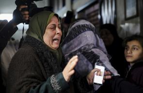 تشييع جثمان الشهيدة امل الترامسي