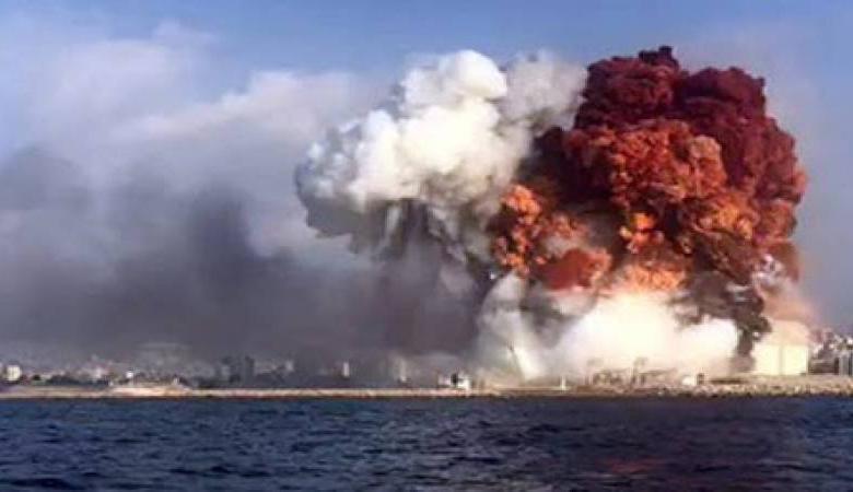 """""""اسرائيل """": لا علاقة لنا بانفجار بيروت"""