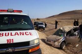 اصابات بين متوسطة وخطيرة في حادث سير مروع بجنين