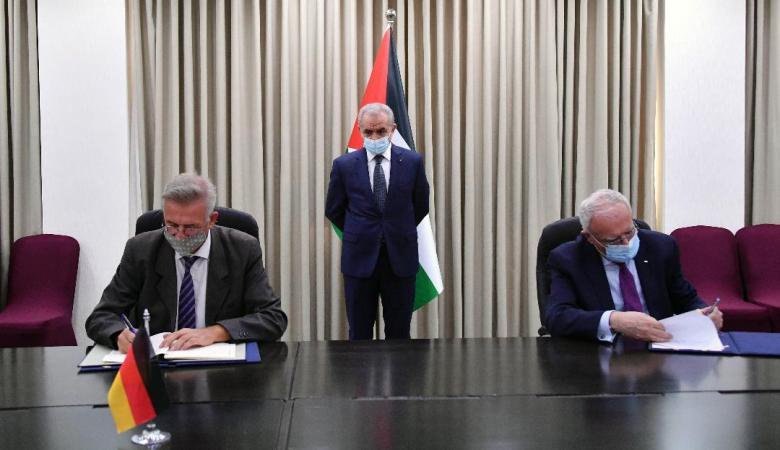 توقيع اتفاقية دعم ألماني متعدد القطاعات بقيمة 56 مليون يورو