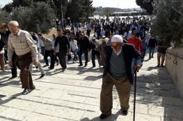 40 الف مواطن ادو صلاة الجمعة في المسجد الاقصى