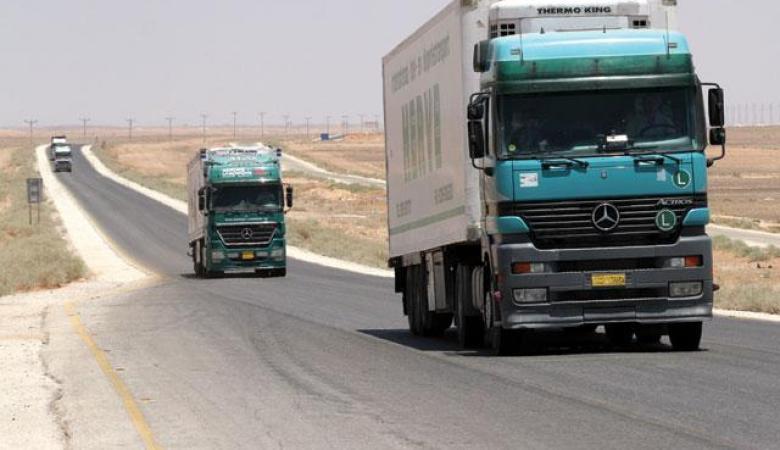 """""""إسرائيل"""" تعرقل دخول منتجات أردنية إلى السوق الفلسطينية"""