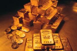 الذهب يهبط من اعلى مستوى له