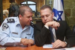 """اردان يضغط لتعيين """"ادري """" مفتشاً عاماً للشرطة الاسرائيلية"""