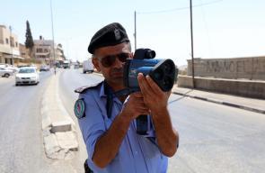 شرطة المرور تباشر باستخدام الرادار للحد من سرعة المركبات في محافظة بيت لحم
