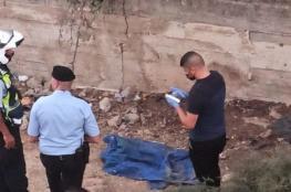"""الشرطة تعثر على جثة رضيع متحللة في مدينة رام الله """" صورة """""""