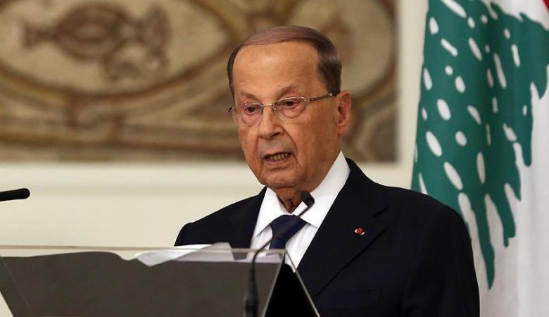 الرئيس اللبناني : خسرنا 10 مليارات دولار بسبب اللاجئيين السوريين