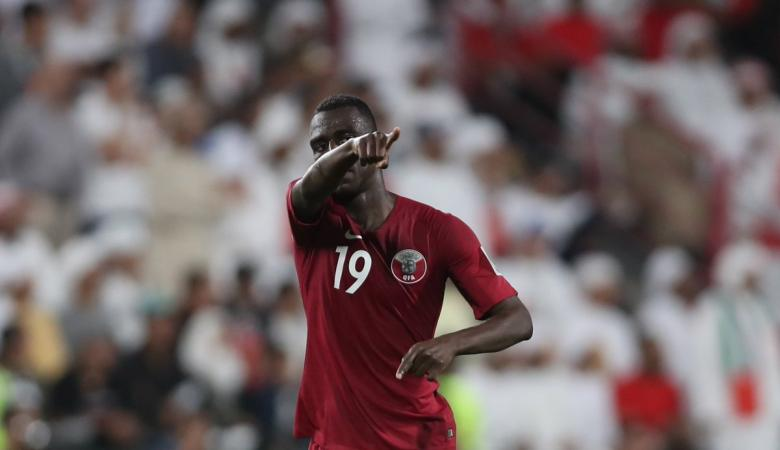 """نجم المنتخب القطري """"المعز علي """" ينفرد برقم قياسي جديد في آسيا 2019"""