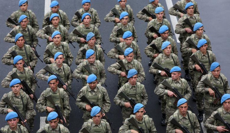 الجيش التركي يشن هجوما على اسرائيل : ايديكم ملطخة بدماء الفلسطينيين