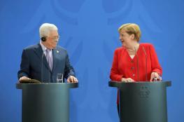 الرئيس من المانيا : مستعدون للذهاب الى انتخابات وانهاء الانقسام