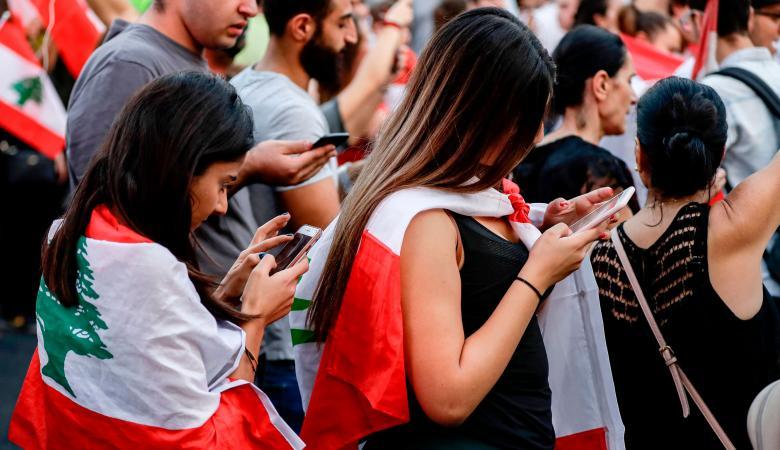 وسائل الاعلام في لبنان تصارع من اجل البقاء