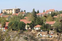 الاحتلال يقرر مصادرة مئات الدونمات من اراضي رام الله