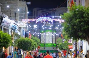 رام الله تستعد لاستقبال عيد الفطر السعيد