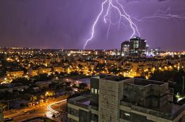 الامطار تعود الى فلسطين نهاية الأسبوع الحالي
