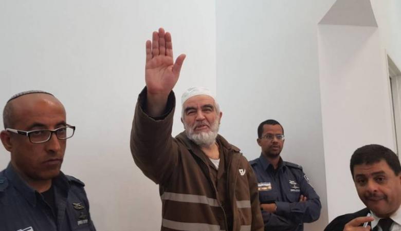 جلسة محكمة جديدة للشيخ رائد صلاح الأحد