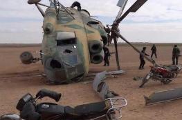 سقوط مروحية عراقية ومقتل طاقمها غربي الموصل