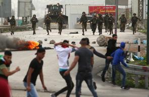 مواجهات بين الشبان وقوات الاحتلال في نابلس ورام الله