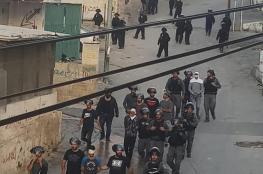 الاحتلال يشن حملة اعتقالات واسعة في بلدة العيسوية