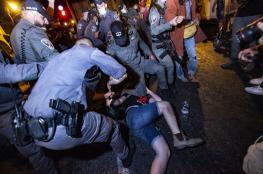 الشرطة الاسرائيلية تقمع تظاهرة ضد نتناهو وتعتقل العشرات